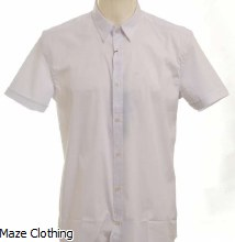 Antony Morato Short Sleeve Shirt White