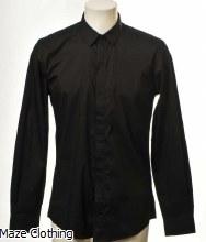 Antony Morato Hidden Placket Shirt Black