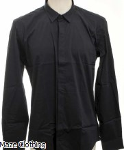 Antony Morato Hidden Placket Shirt Navy