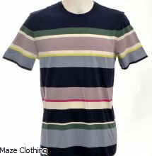 Ted Baker Sleep T Shirt Navy