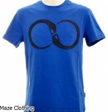 Cavalli Class Snake T Shirt Royal