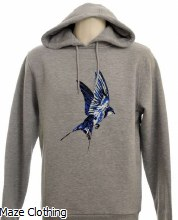 Untitled Atelier Swallow Hoody Grey