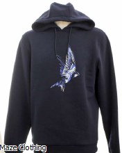 Untitled Atelier Swallow Hoody Navy