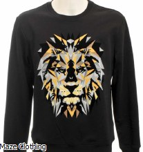 Antony Morato Lion Sweat Black