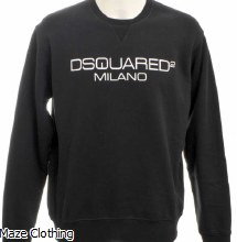 DSquared2 Milano Sweat Black