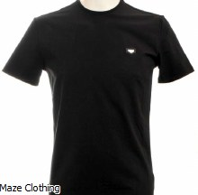 Antony Morato Badge Tee Black