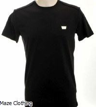 Antony Morato Logo Badge Tee Black