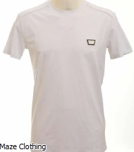 Antony Morato Logo Badge Tee White
