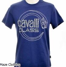 Cavalli Class Logo Serpent Navy