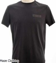 Lagerfeld Logo T Shirt Navy