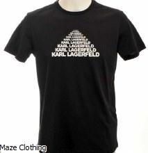Lagerfeld Tee 755035 Black
