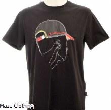 Cavalli Class Cap T Shirt Black
