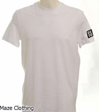 DSquared2 D2 Sleeve Logo Tee White