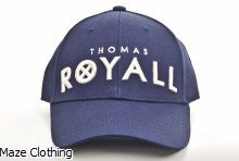 Thomas Royall Grey Suede Cap