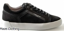 Android Homme Venice Black Suede Trainer