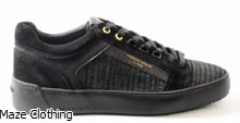 Android Homme Venice Metallic Trainer Black