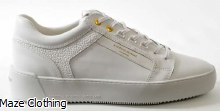 Android Homme Venice White Leather Trainer