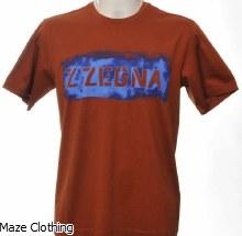 Zegna Logo T Shirt Bronze