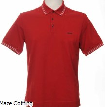 Zegna Polo Shirt Red