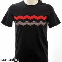 Missoni Zig Zag T Shirt Black