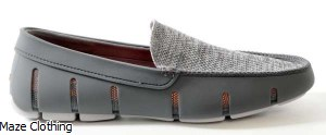 Swims Venetian Loafer Grey