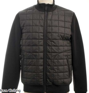 Lagerfeld quilted Jacket Black