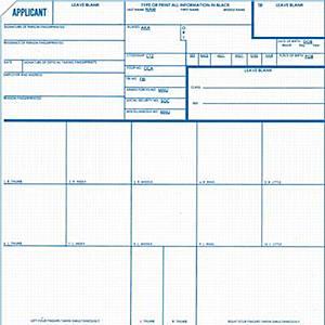FD258,FP Card Appl Rcrd,100ct.