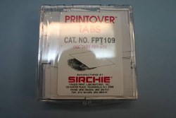 FPT109, Printover Tabs