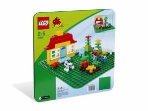 LEGO 2304 DUPLO GREEN PLATE