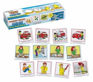 POCKET CHART STORY SEQUENCING
