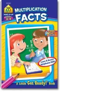 SZ MULTIPLICATION FACTS