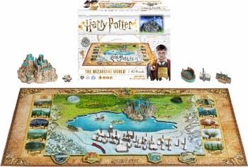 Harry Potter 4D Puzzle Wizard