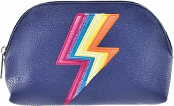 Lightning Faux Leather Case