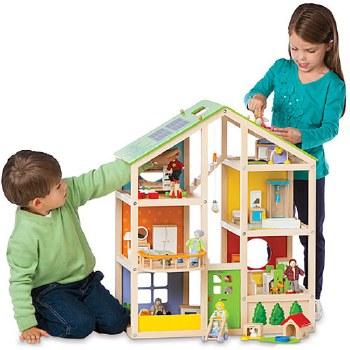 Hape All Season Dollhouse