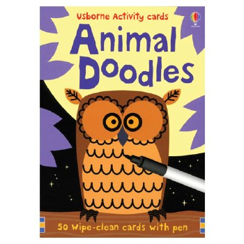 Animal Doodles Activity Cards- Usborne