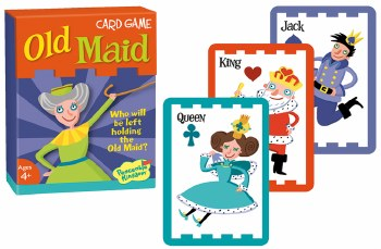 Old Maid Card Game - Peaceable Kingdom