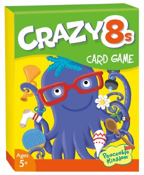 Crazy 8s Card Game - Peaceable Kingdom