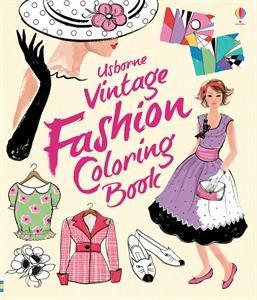 Patterns to Color Vintage Fash