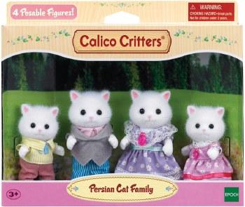 Calico-Persian Cat Family