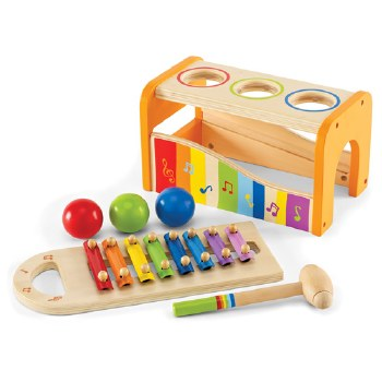 Hape Early Melodies Pound N Tap Bench w/ Xylophone