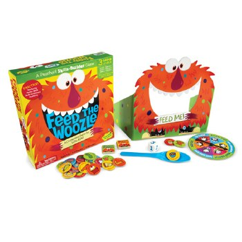 Feed the Woozle Game - Peaceable Kingdom
