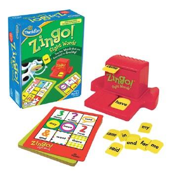 Zingo! Sight Words Game