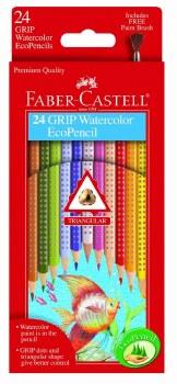 Faber-Castell Color Grip Watercolor 24 Piece