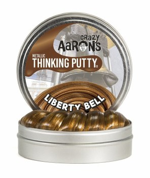 Crazy Aaron's Limited Edition Thinking Putty - Liberty Bell