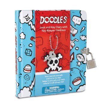 Doodle Diary w/Key Keeper