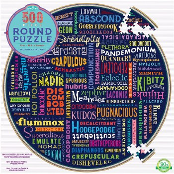 100 Great Words Puzzle 500 Pc