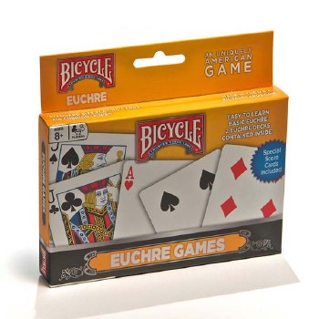 Euchre Playing Cards - Bicycle