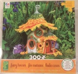 Fairy Houses Puzzle 300 Pc