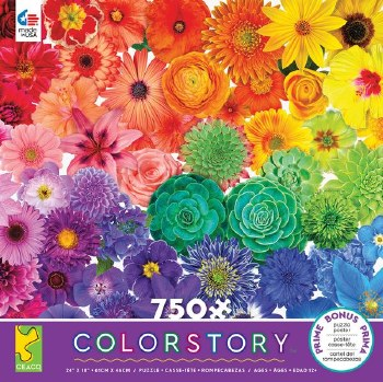 Flower Power Puzzle 750 Pc