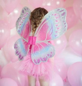Glimmerwind Wings Hot Pink/Royal - Grea Pretenders